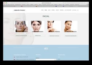 Diseño web cliente Charlotte Meiers IntroCrea
