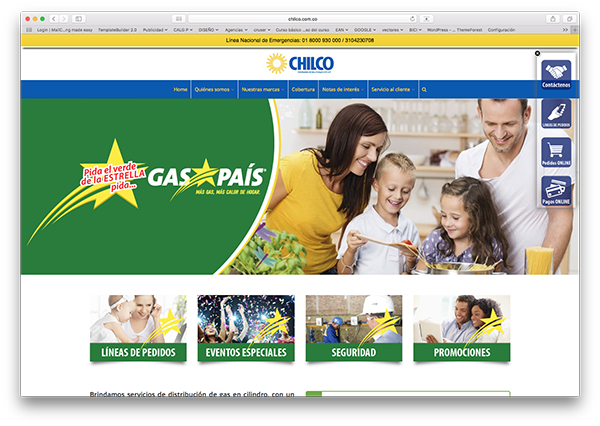 chilco gaspasi diseño web introcrea