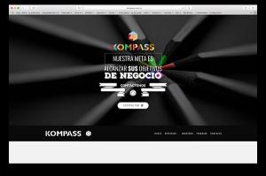 kompass cliente de diseño web inicio