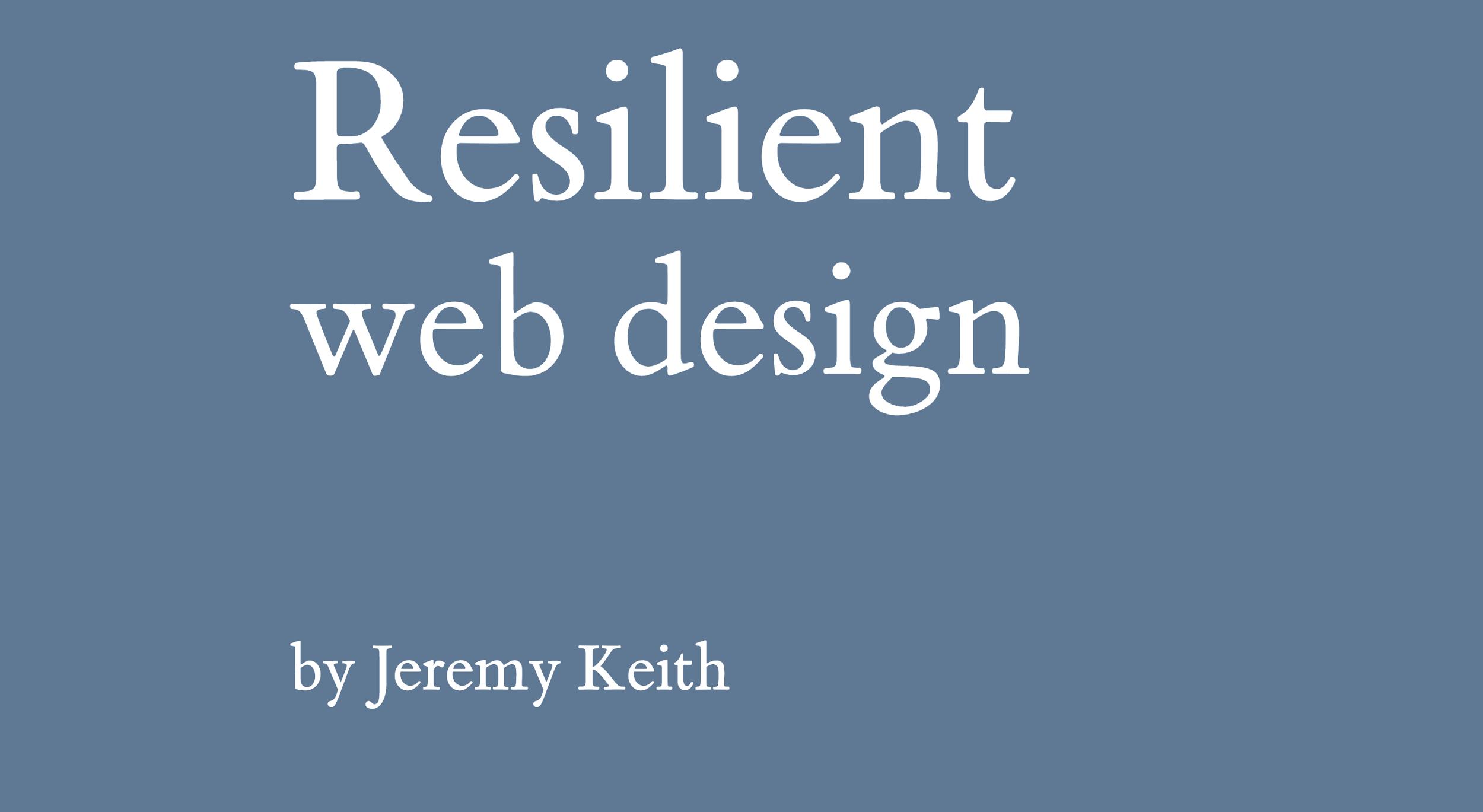 blog introcrea ebooks gratuitos que todo diseñador debe leer Resilient Web Design