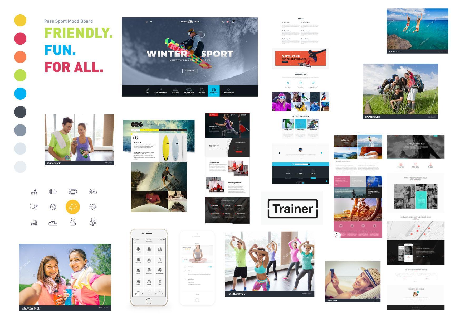 blog introcrea mood boad caso de diseño de marca